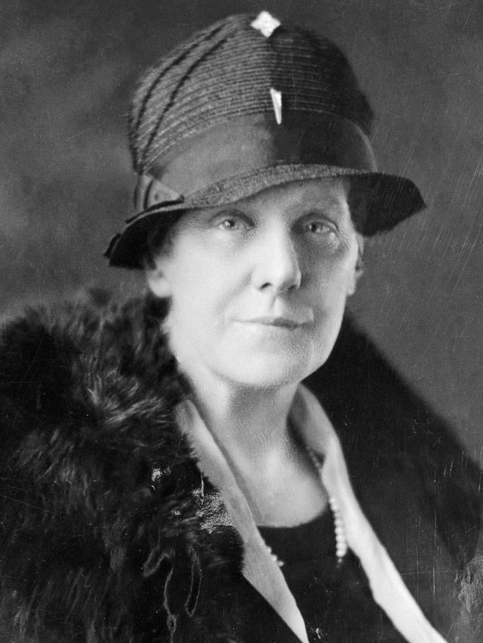 """Anna Jarvis, founder of the modern version of Mother's Day, fought against the the commercialization of the holiday, working to protect it from """"the hordes of money schemers."""" Photograph by Bettmann, Corbis"""