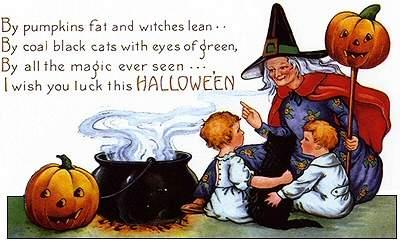 halloween_witch_with_children