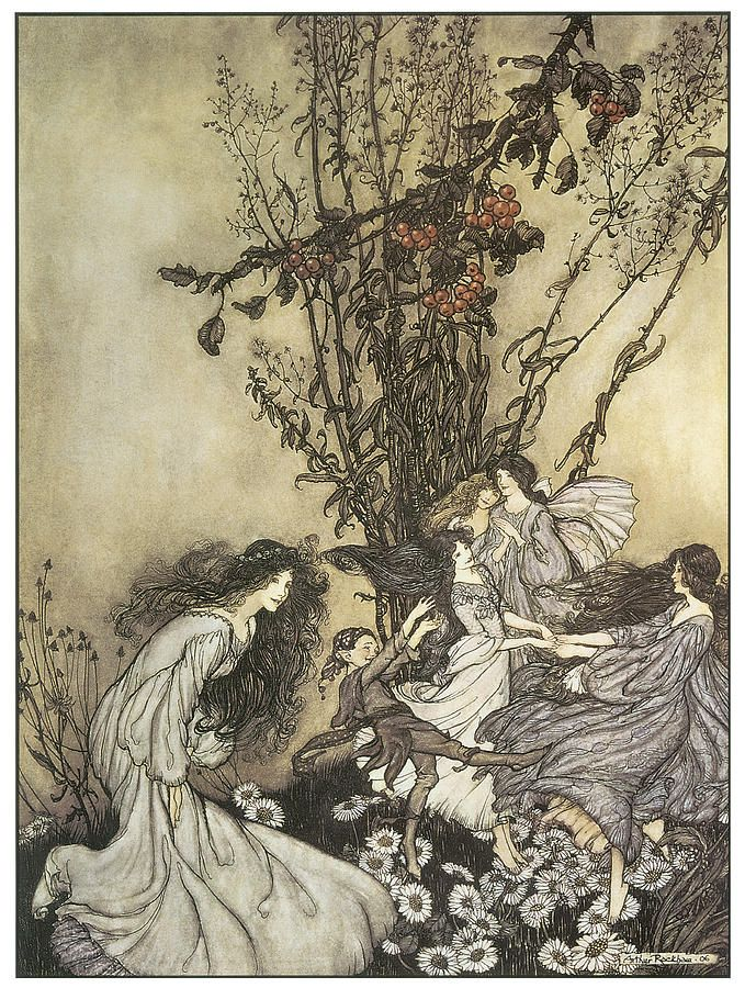 Dancing With The Fairies by Arthur Rackman