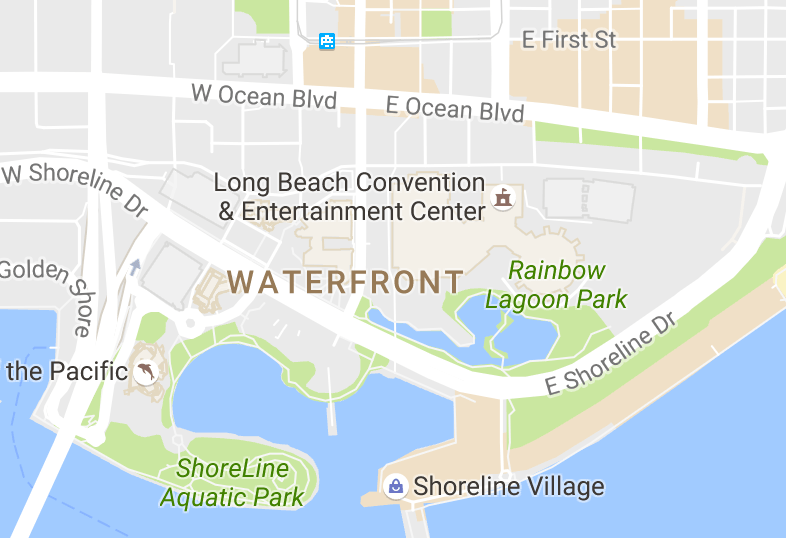 Rainbow Lagoon, Long Beach, California