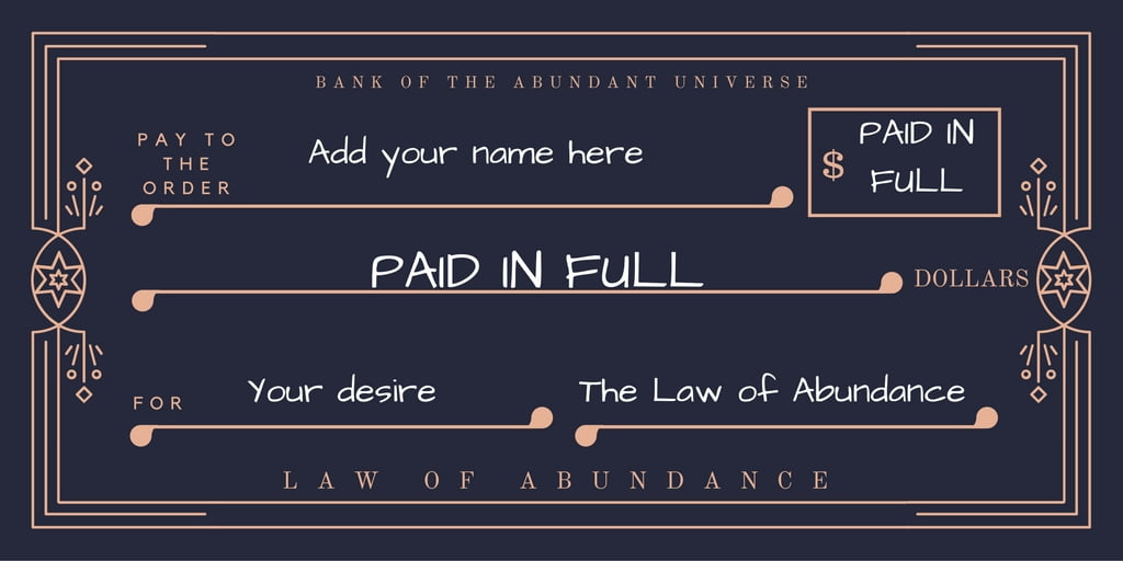 law-of-abundance-check