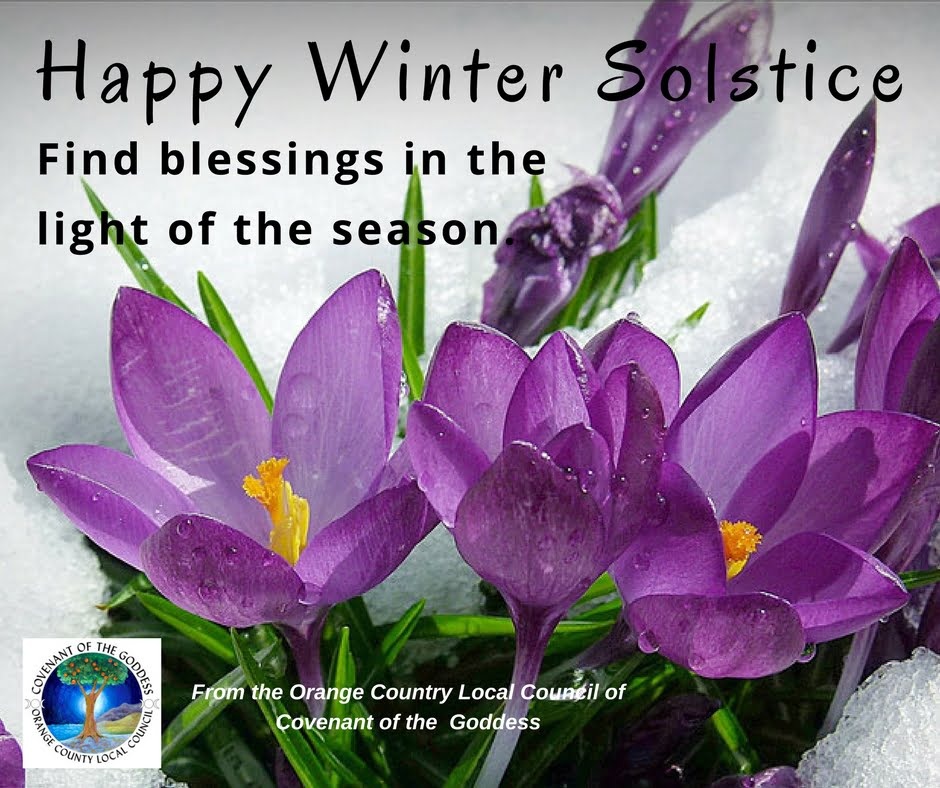 Blessings at this Winter Solstice